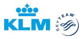 Flug mit KLM nach Afrika