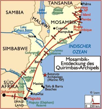 mosambik reisen safari