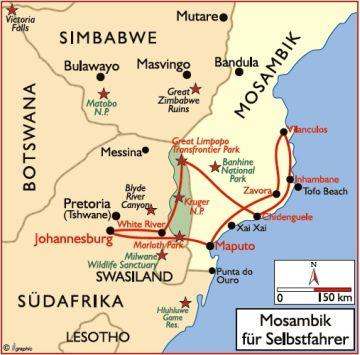 mosambik reisen safaris