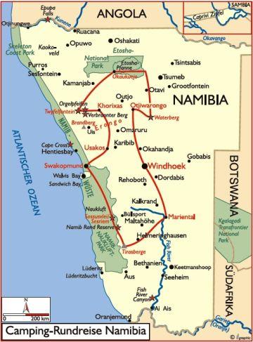 namibia reisen safaris rundreise