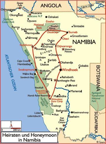 namibia hochzeit heiraten
