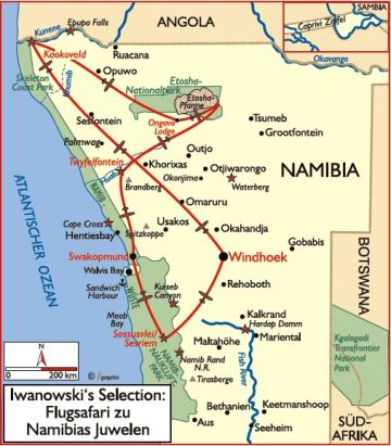 namibia reisen safaris unterkünfte