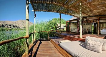 luxuriöse Camps Lodges Namibia