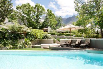 Swimming Pool des Schoone Oordt Country Houses in Swellendam Südafrika