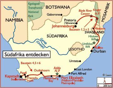 südafrika reisen mietwagen
