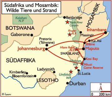 südafrika mosambik reisen safaris