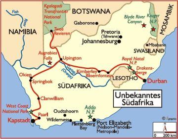 südafrika reisen safari unterkünfte