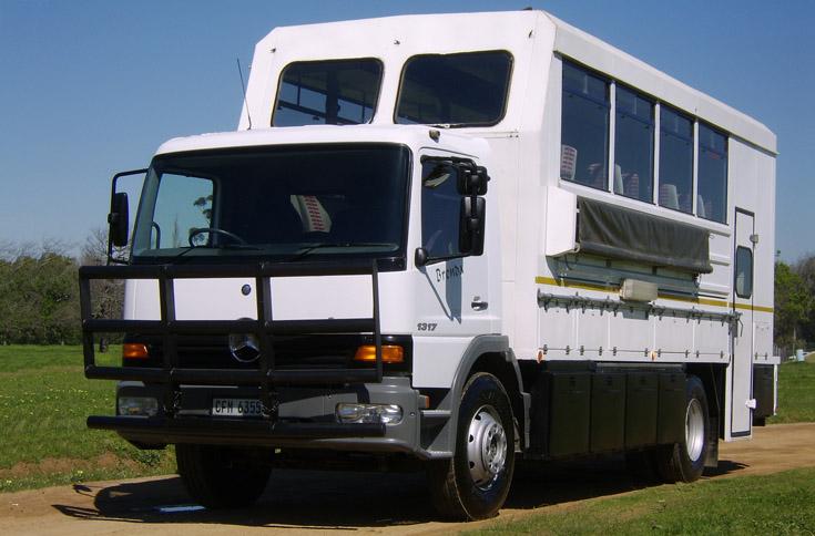 Nomad Tours Trucks