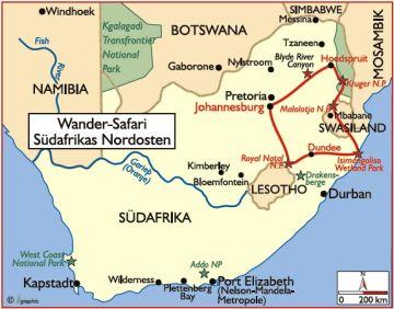 südafrika wandern safari