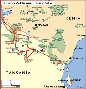 tansania reisen safari rundreise