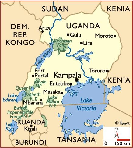 Uganda Ruanda Reisen