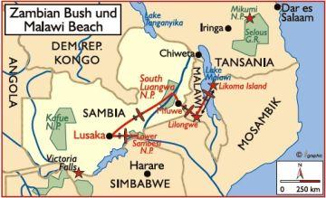 sambia malawi reisen safaris