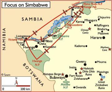 Simbabwe Focus on Simbabwe Iwanowskis Reisen - afrika.de