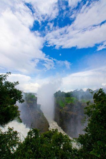 Simbabwe Viktoria Wasserfälle Iwanowskis Reisen - afrika.de