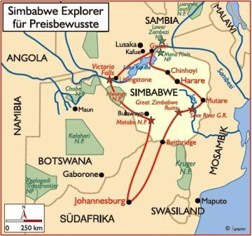 Simbabwe Explorer Iwanowskis Reisen - afrika.de