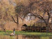 Botswana Khwai Konzession Khwai Tented Camp Mokorofahrt - afrika.de