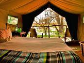 Botswana Khwai Konzession Khwai Tented Camp Zeltunterkunft - afrika.de
