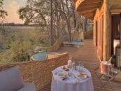 Botswana Okavango Delta Sandibe Safari Lodge Schlafzimmer - afrika.de