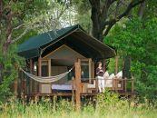 Botswana Safari Okavango Delta Stanley's Camp Safarizelt 1 - afrika.de