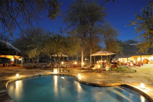 Etosha Aoba Lodge in Namibia