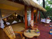 sambia kafue mukambi bush camp safarizelt - afrika.de