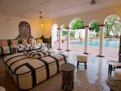 Simbabwe Reisen Viktoriafälle Victoria Falls Hotel Pool - afrika.de