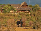 Simbabwe Reisen Viktoriafälle Victoria Falls Safari Lodge Aussenansicht - afrika.de