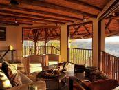 Simbabwe Safari Viktoriafälle Victoria Falls Safari Lodge Aussichtsdeck - afrika.de